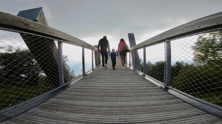 Le belvédère du Revard, Savoie.